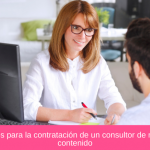 10 Directrices para la contratación de un consultor de marketing de contenido