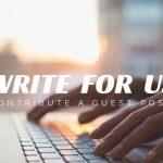 Become a Guest Contributor for Lorenzo Gutierrez