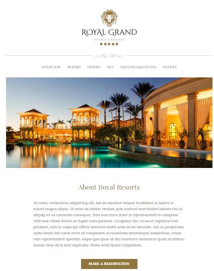 Hospitality & Hotel email Marketing