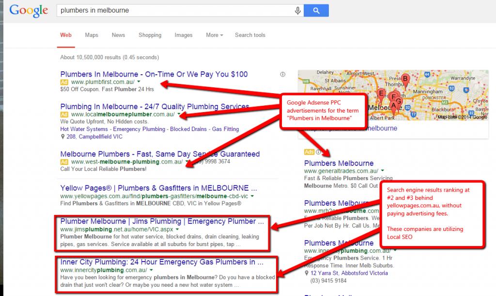 google maps local seo digital marketing strategy