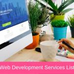 Web Development Services List