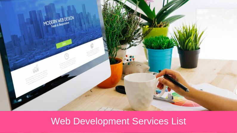 Web Development Services List