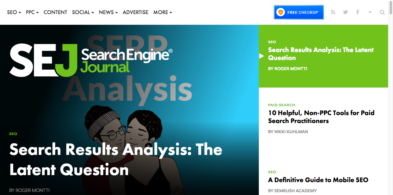 search engine journal blog