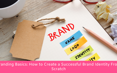 Branding Basics: How to Create a Successful Brand Identity From Scratch